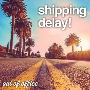 SHIPPING IS DELAYED UNTIL 10/31